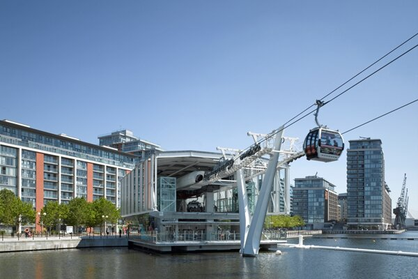 Cable car in London