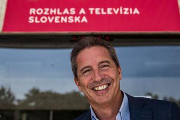 Václav Mika of RTVS