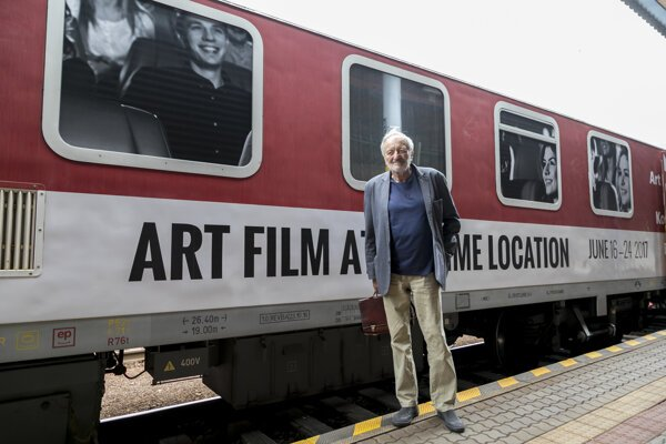 Art Film Fest and its president, Milan Lasica