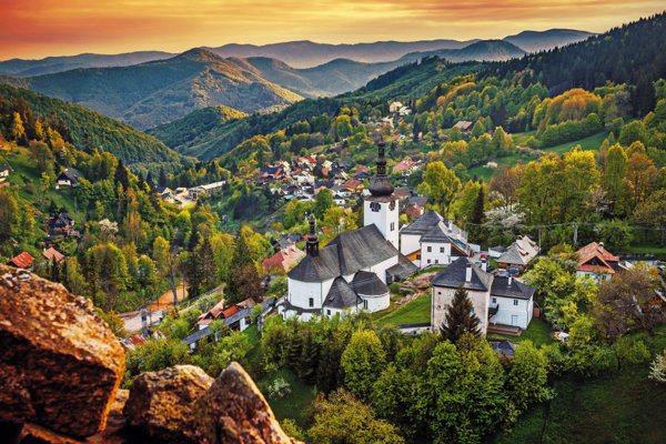 Špania Dolina - Central Slovakia