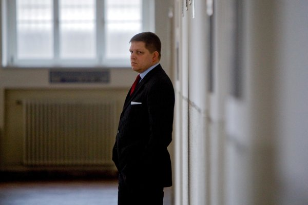 Prime Minister Robert Fico during the 2009 proceeding.