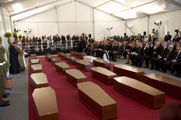 Italy is burying illegal migrants who drowned in a weekend disaster.