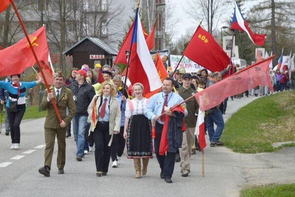 May Day celebrated in the High Tatras