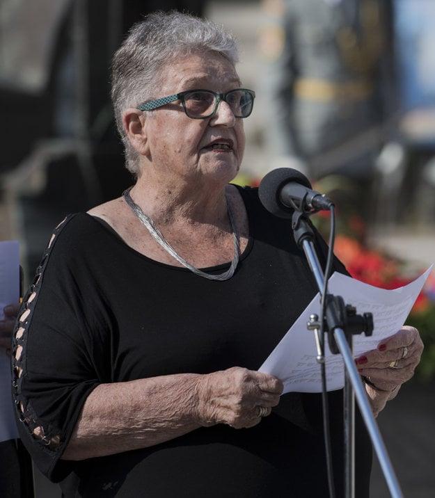 Chava Schelach, born Eva majreová, a Holocaust survivor