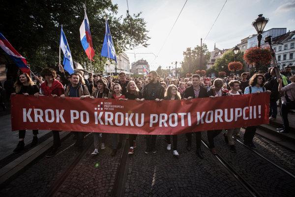 The anti-corruption march