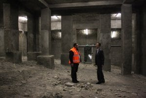 Underground space below Slavín memorial may hold WWII museum in the future.