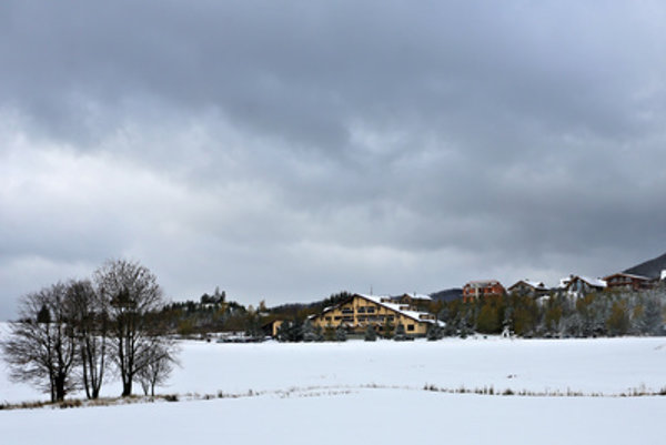 The Donovaly resort in central Slovakia had snow as early as October.