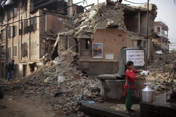 Kathmandu after earthquake