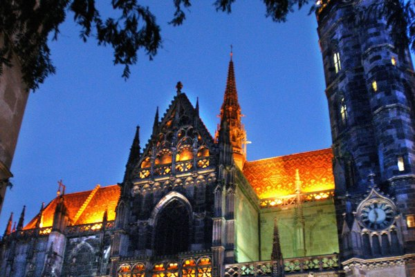 The St Elizabeth's Cathedral in Košice.