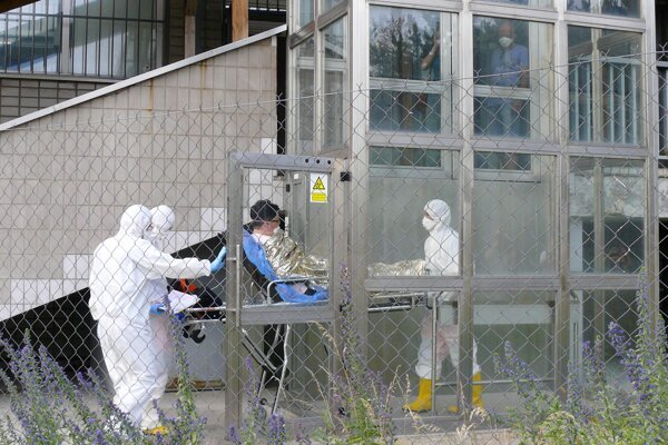 Transport of MERS-suspected patient, Bratislava