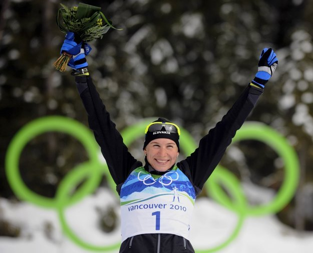 Biathlete Anastasia Kuzmina is ready to defend her Olympic medal.