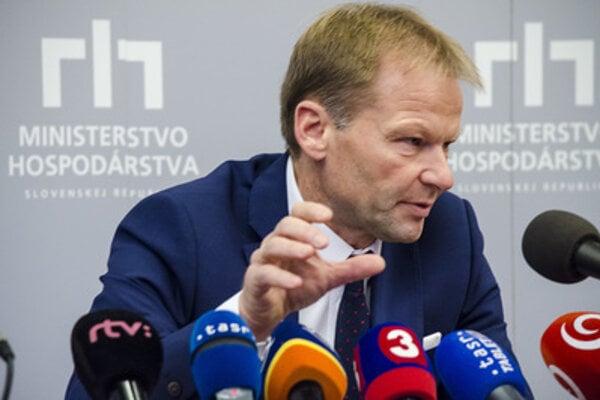 Economy Minister Vazil Hudák