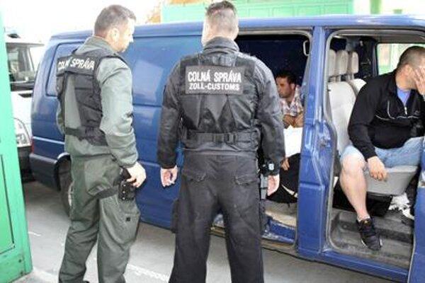 Migrants caught in Čunovo