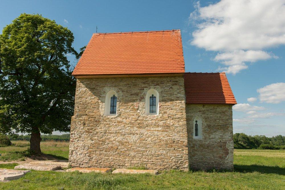 The Church of St Margaret of Antioch near Kopčany.