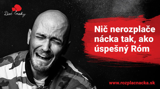 The Rozplač nácka (Make a Nazi cry) campaign visual.