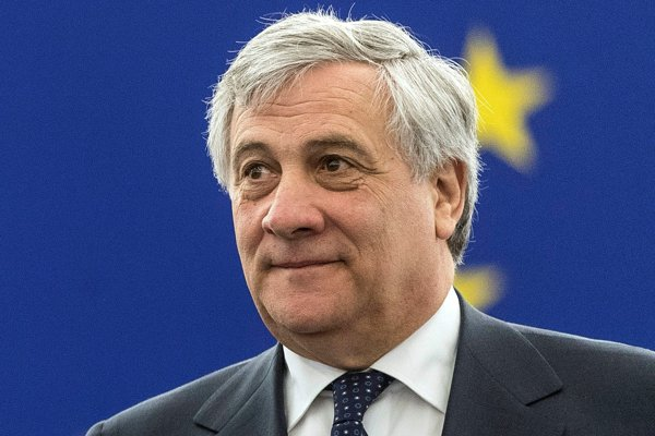 Antonio Tajani in EP