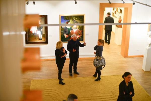 Opening of the reconstructed Liptov Gallery of P.M. Bohúň, Liptovský Mikuláš