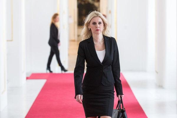 Justice Ministry State Secretary Monika Jankovska