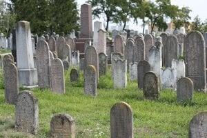 Jewish cemetery in Dunajská Streda