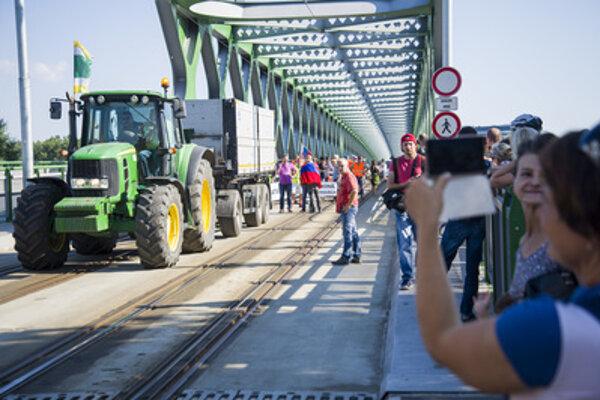 Protesting farmers in Bratislava, June 20.
