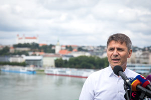 Ivo Nesrovnal announced his candidacy for Bratislava Mayor.