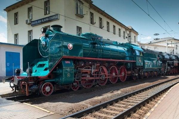 Presidential train arrives in Bratislava, July 3