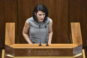 SaS MP Jana Cigániková
