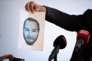 Identikit of the man wanted as a witness in the case of Ján Kuciak murder