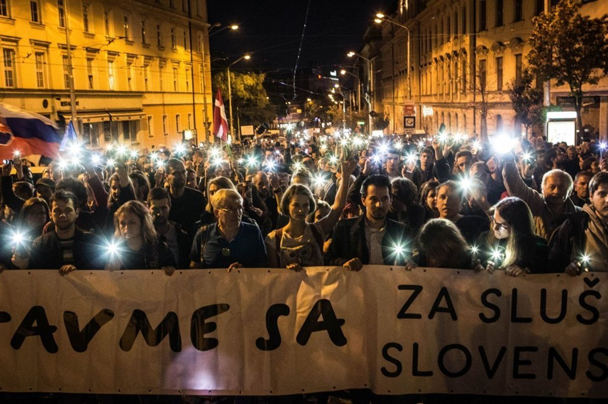 f2d3151e36e For a Decent Slovakia gatherings return to streets - spectator.sme.sk