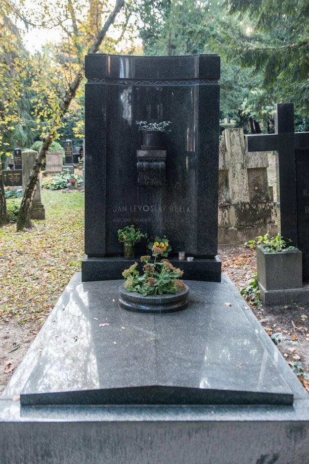 The tomb of music composer Ján Levoslav Bella
