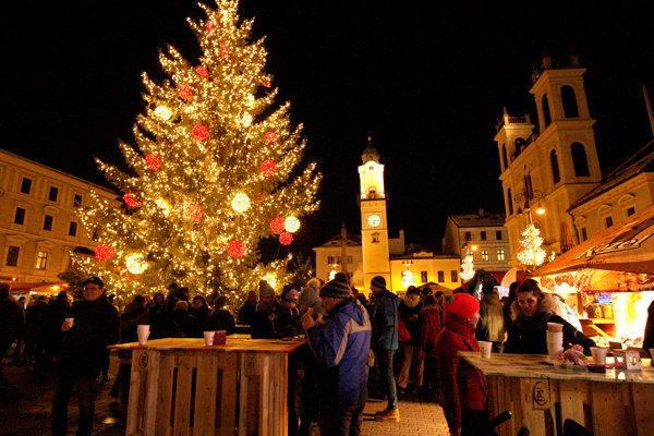 Christmas spirit in Banská Bystrica.