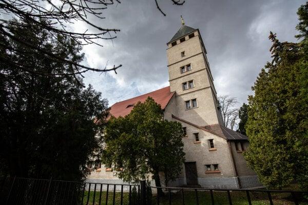 The Evangelical church in Prievoz