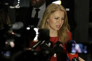 Zuzana Caputova on election night
