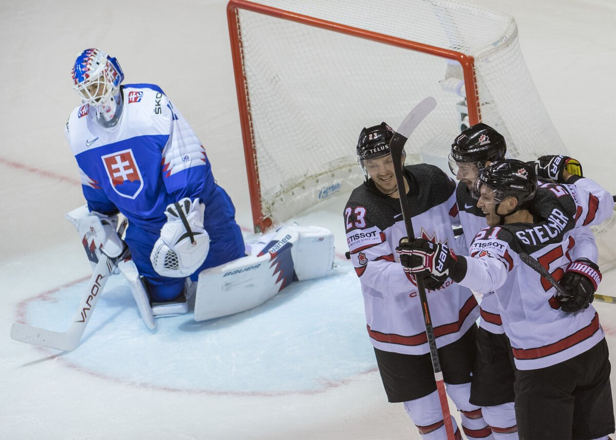 2019 Ice Hockey Worlds Slovakia Lost To Canada Spectator Sme Sk