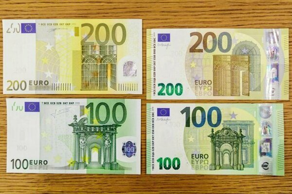 The new €100 and €200 banknotes were put into circulation on May 28, 2019.