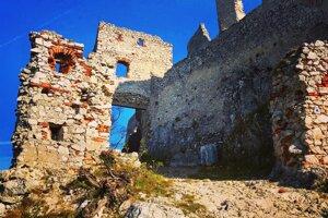 Castle ruins in Záhorie region