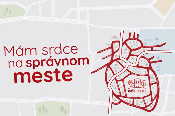 This year's logo for Naše Mesto.
