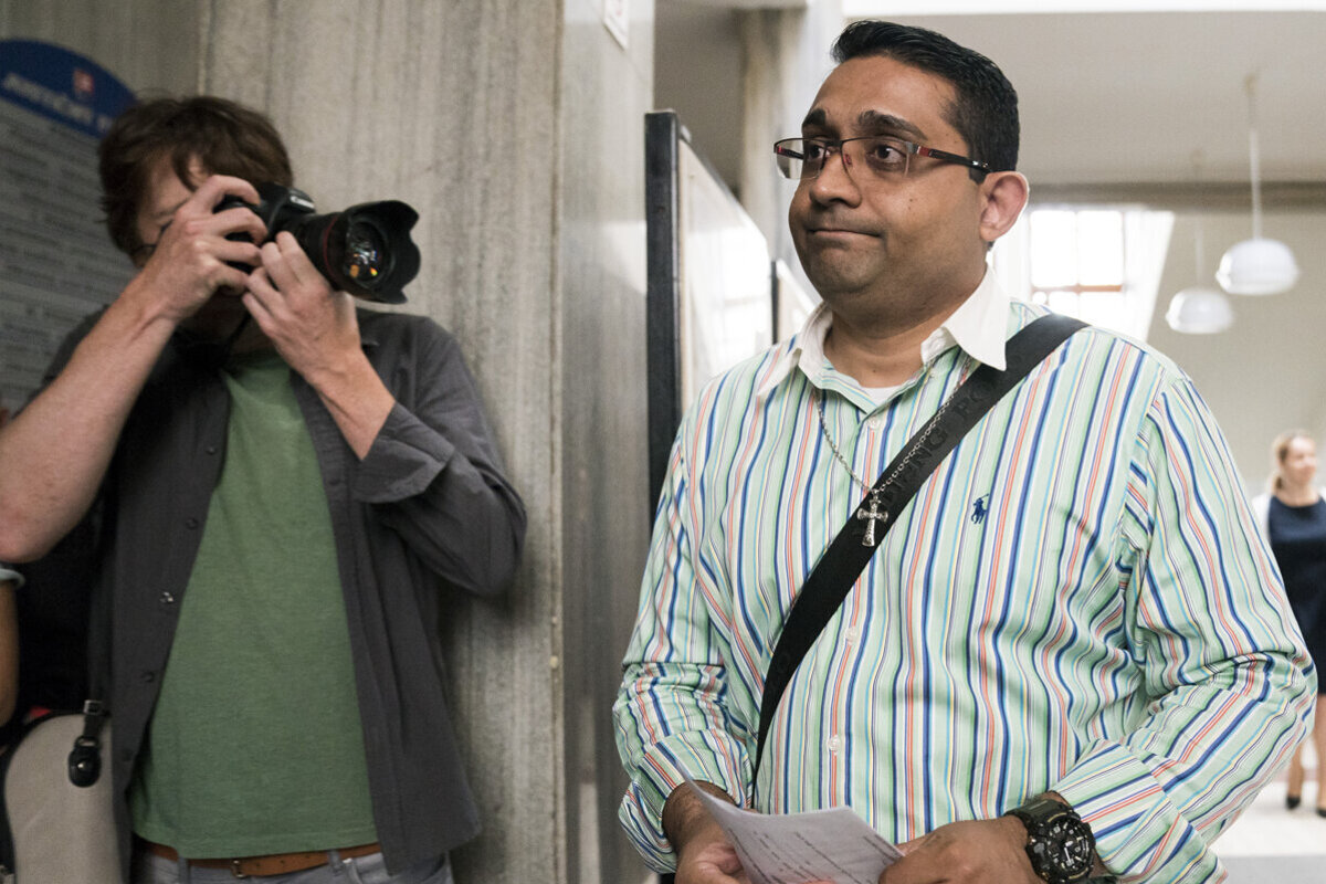 089c3491b4881 Nishit Timothy from India was acquitted of charges.