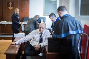 Pavol Rusko in court.