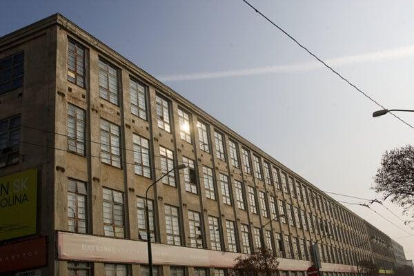 Cvernovka building in Bratislava