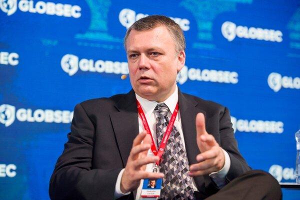 Radoslav Danilák at 2017 GLOBSEC conference in Bratislava.