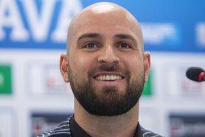 Slovan Bratislava manager Ivan Kmotrík Jr.