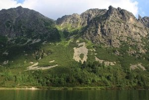 Sedlo pod Ostrvou in the High Tatras