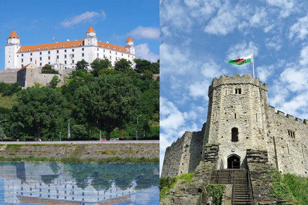 What do Cardiff and Bratislava have in common? Visitors can find castles in both. But what else?