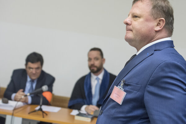 Oligarch Milan Fiľo testifies in court in the promissory notes case on November 5, 2019