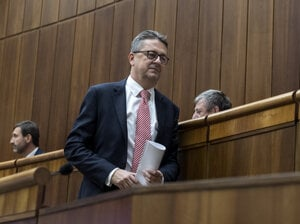 Martin Glváč is leaving parliament.