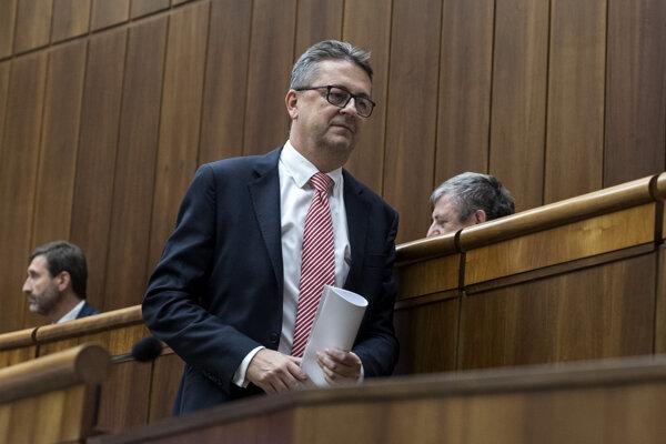 Martin Glváč is leaving parliament.
