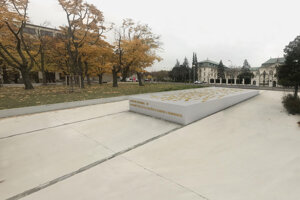 Visualisation of the Memorial of Democratic Revolution 1989.