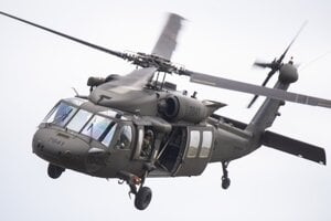 Three remaining Sikorsky UH-60M Black Hawk helicopters should be delivered in early 2020