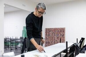 Slovak artist Anna Daučíková displays her work in the Slovak National Gallery in Bratislava until late March 2020